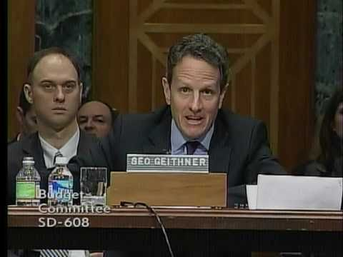 Geithner Admits: Obligations In President's Budget 'Unsustainable'