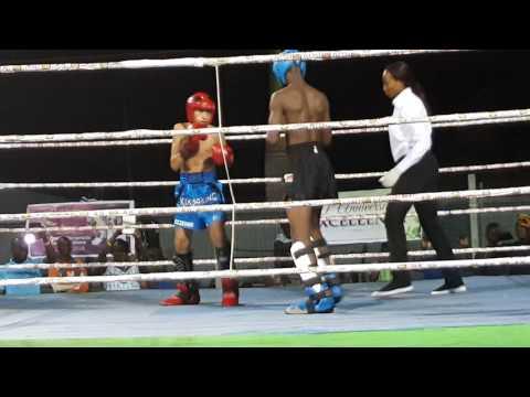 Ghana Kickboxing.  Isaac Aikins(18)