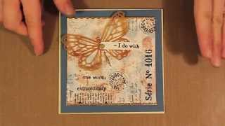 Studio SN: Cardmaking Backgrounds with Smooch Ink