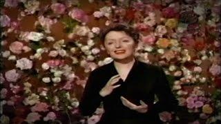 Édith Piaf En México La Vie En Rose Francés Español 1956