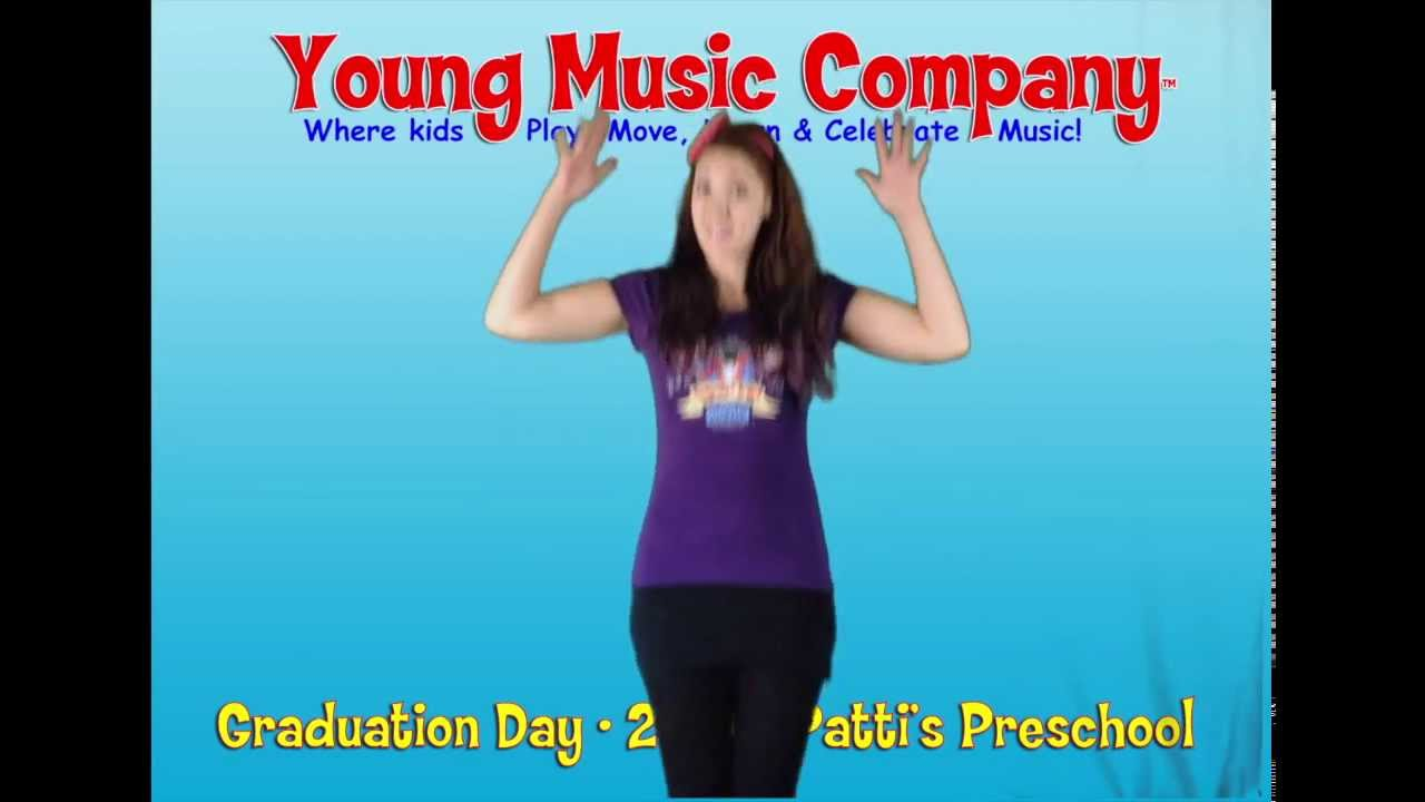 Preschool graduation day song youtube
