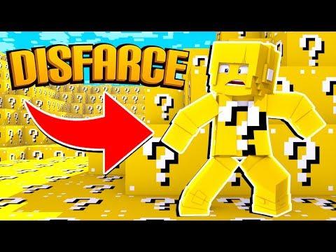 Minecraft: DISFARCE DE LUCKY BLOCK - (Esconde-Esconde)