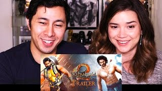 BAHUBALI 2 - THE CONCLUSION | Trailer Reaction & Discussion!