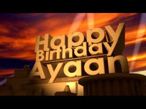 Happy Birthday Ayaan