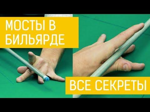 Мосты в бильярде - как ставить руку? Обучение с Чемпионом Европы правильной игре в бильярд