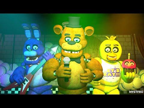 Five Nights at Freddy's 1, 2 & 3 Music (FNAF SFM 4K)