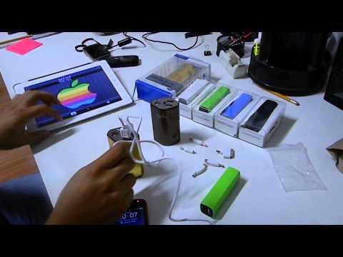 Cargador/Batería Portátil para múltiples dispositivos