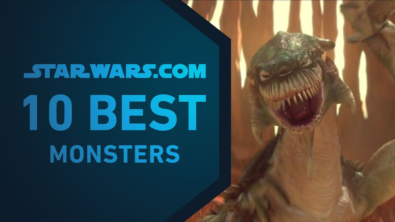 Star Wars 2 Monsters Best Star Wars Monsters | The