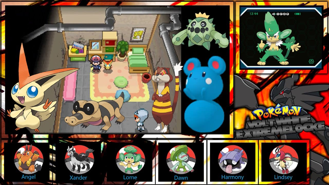 Let 39 S Play Pokemon Volt White Extremelocke Part 9 The