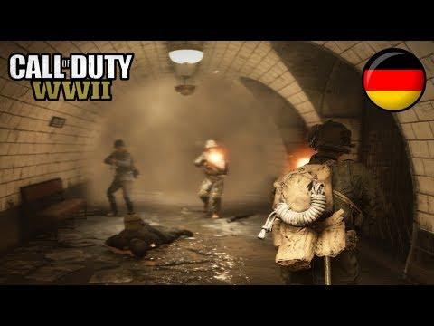 Die Sticky am Fuß - Call of Duty: WWII Trouble Town Battle - Deutsch German - Dhalucard