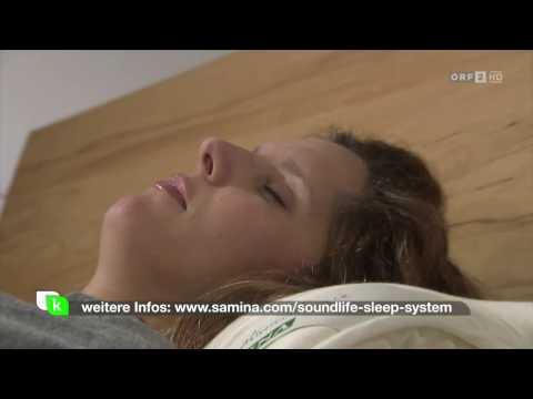 Musiktherapie mit speziellem Kissen - Neuartige Lösung bei Schlaflosigkeit & Schlafstörungen