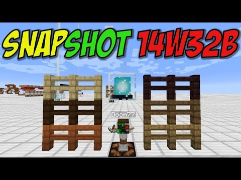 Minecraft 1.8: Snapshot 14w32b More Fence Colors Disco Beacons