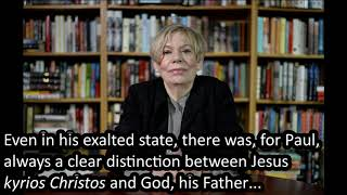 Video: Jesus was not God according to Mark, Matthew, Luke and Apostle Paul - Karen Armstrong