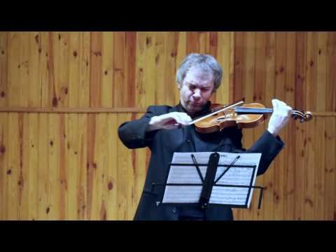 Феликс Мендельсон - Соната для скрипки фа мажор op.4