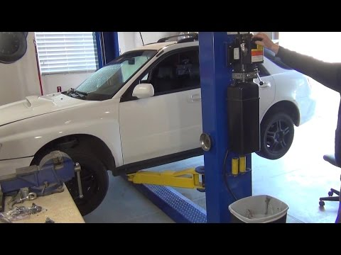 My Story Getting and Installing a Car Lift