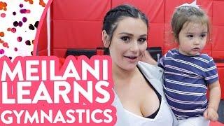 """Jenni """"JWOWW"""": Meilani Learns Gymnastics"""