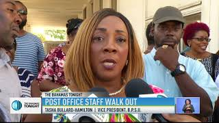 POST OFFICE STAFF WALK-OUT