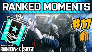RAINBOW SIX SIEGE RANKED MOMENTS #17 - Diamond Ranked Squad - Velvet Shell