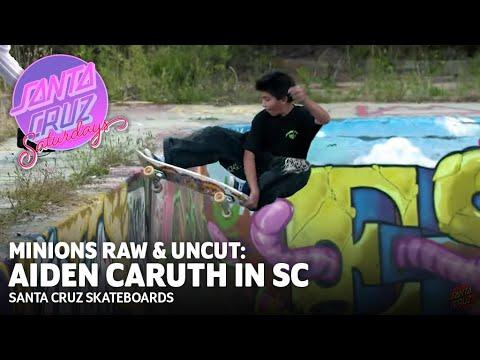 Little Dude, Big Style! Aiden Caruth Skates SC! | Santa Cruz Saturdays