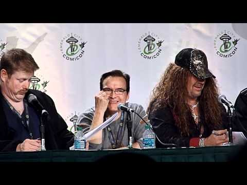Voice Actors reading Star Wars script panel clip 11