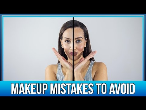 [DOMINIQUE] MAKEUP MISTAKES TO AVOID