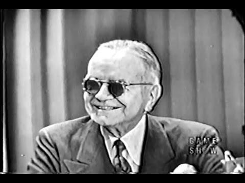 What's My Line? - Steve Allen's first show! - Admiral William Halsey (Mar 4, 1951)