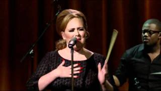 Adele Video - Adele - Chasing Pavements (Live) Itunes Festival HD