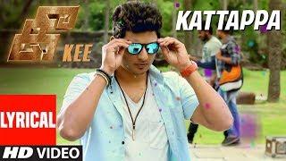 Kattappa Lyrical Song    Kee Tamil Songs    Jiiva, Nikki, Anaika, Rj Balaji, Krishna Prasad