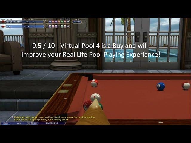 Руководство запуска: Virtual Pool 4 по сети (Fix by REVOLT)