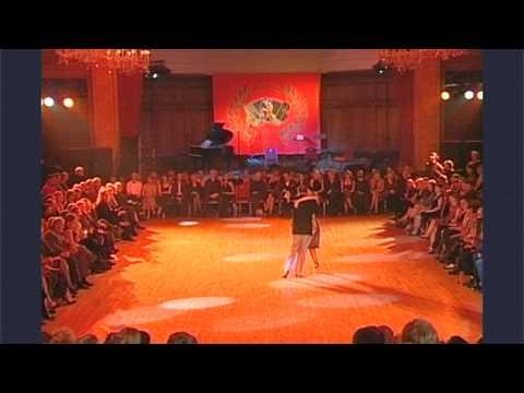 4thTango Festival London 2002  Veronique Bouscasse & Shierry Le Cocq