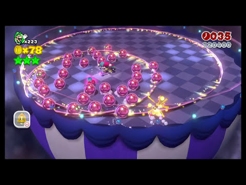Super Mario 3D World - Boss Blitz (Flower-12)