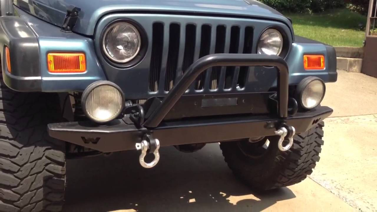 My 1999 Jeep Wrangler Youtube