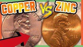 RARE PENNIES WORTH MONEY - 1982 PENNY ERROR COINS!!