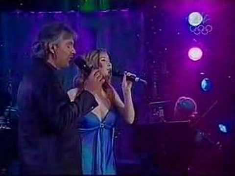 Andrea Bocelli & Hayley Westenra -- Vivo Per Lei