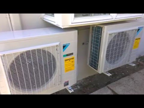 daikin mini split heat pump videolike. Black Bedroom Furniture Sets. Home Design Ideas