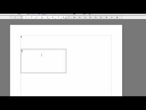LibreOffice und OpenOffice Writer - Adressfeld nach deutscher Norm einrichten