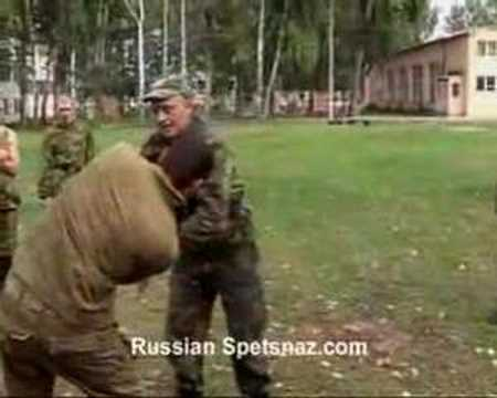 Vadim Starov-Systema Spetsnaz-Knife Self Defence Technique Image 1