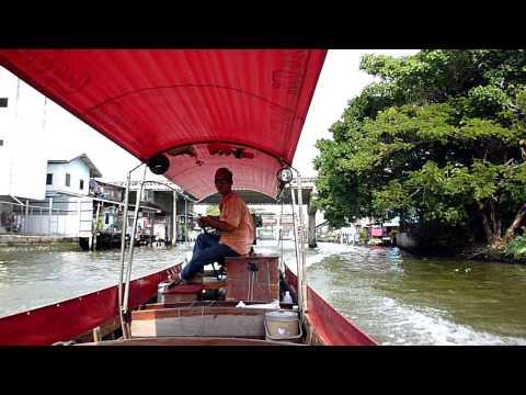 Long Tail Boat Drive – Chao Phraya River, Bangkok