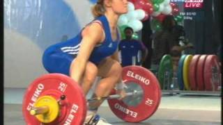 European Championships 2010 Weightlifting Chiquet 58 1