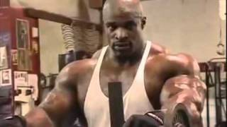 Ronnie Coleman Bodybuilding Biceps Workout