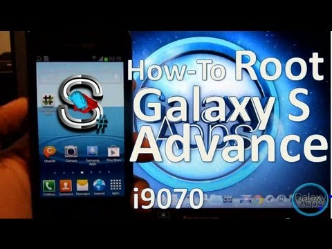 [How to] Root para Galaxy S Advance i9070 Jelly Bean (Español Mx)