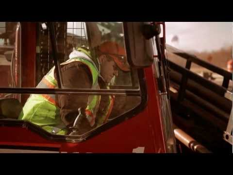 W&W Utility Construction drilling with the StraightLine RockEye Air Hammer System