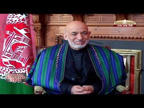 Hamid Karzai on Indian Standard Time