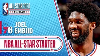 Joel Embiid 2020 All-Star Starter | 2019-20 NBA Season