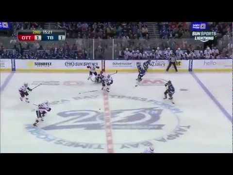 Ottawa Senators Vs Tampa Bay Lightning - Highlights 1/25/13