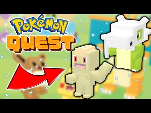 My First SHINIES! Pokemon Quest Part 8