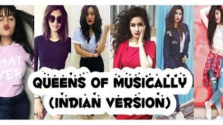 Queens of Musically (Indian Version) | aashika, avneet, nagma, heer ,vitasta and more