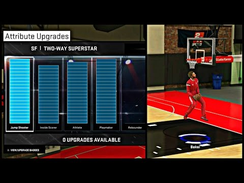 NBA 2K15 MyCAREER - Attribute Update #6   Showing My Jumpshot, Dunk Packages, Attributes And MORE !