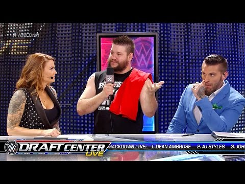 Kevin Owens interrupts the WWE Draft Central panel: July 19, 2016