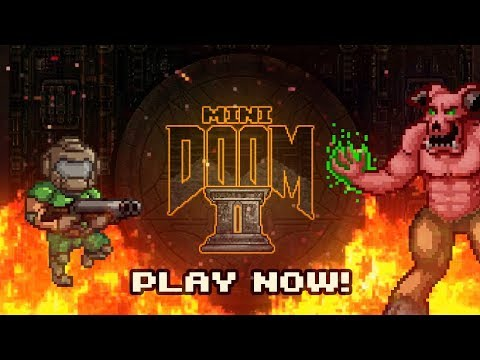 MiniDoom 2 Launch Trailer